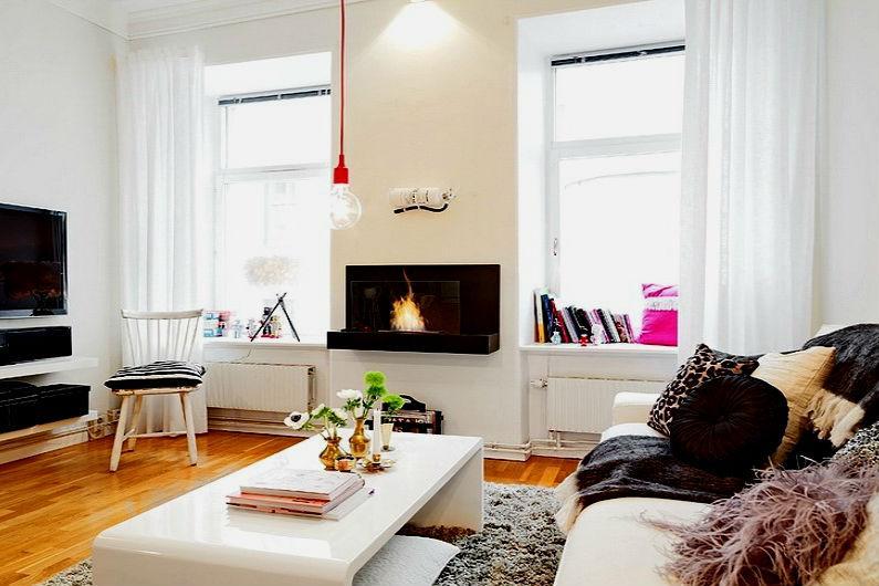 планировка интерьера однокомнатной квартиры6