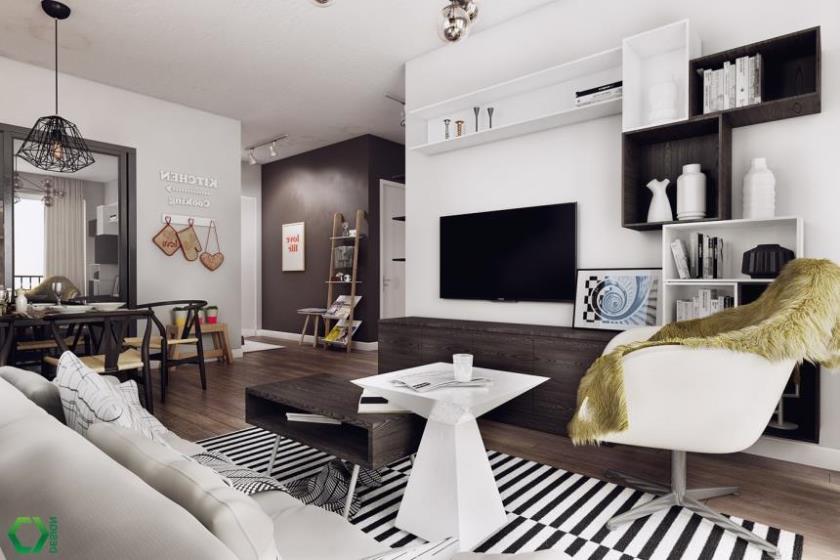современные красивые интерьеры квартир (14)