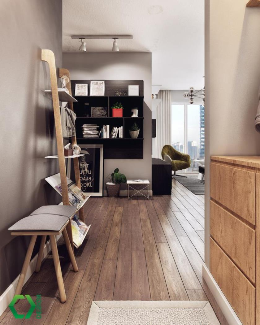современные красивые интерьеры квартир (3)