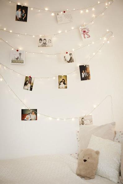 световое украшение интерьера к рождеству и новому году (1)