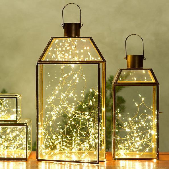 световое украшение интерьера к рождеству и новому году (2)