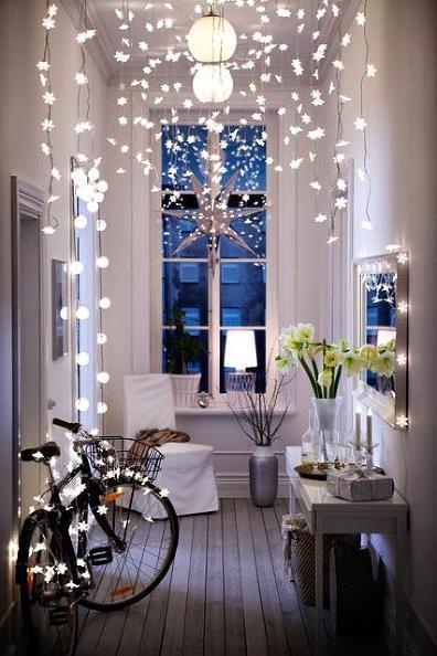 световое украшение интерьера к рождеству и новому году (4)