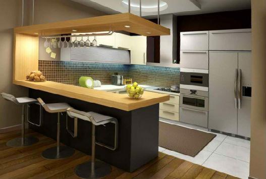узкий кухонный стол