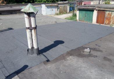 Рассказываю как за 11 300 рублей и 3 дня покрыть крышу гаража гидроизоляцией, не используя горелку