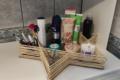 Как разобрать вечный беспорядок в ванной: делюсь как сделать самодельный органайзер из бамбуковых палочек за 62 рубля