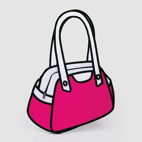 Мультипликационные 2D сумки