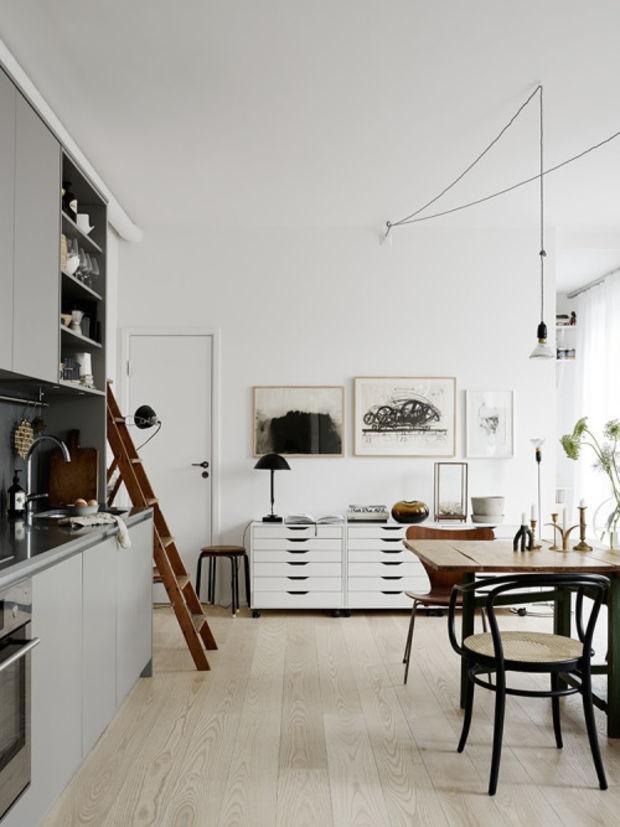 50 Лучших интерьеров в Скандинавском стиле