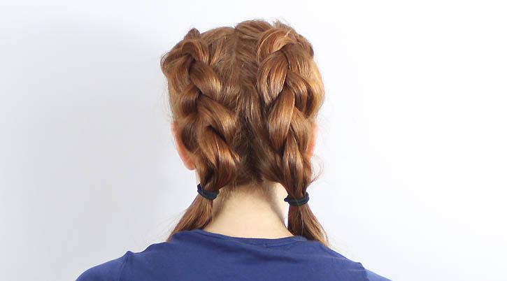 Прическа, плетение Braided