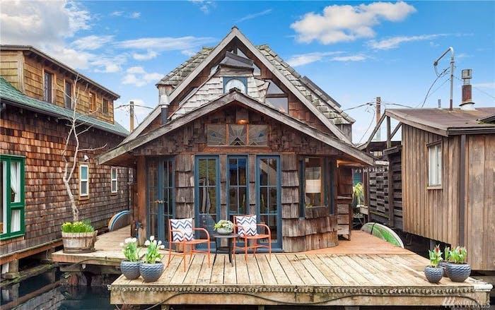 Плавучий дом в Сиэтле