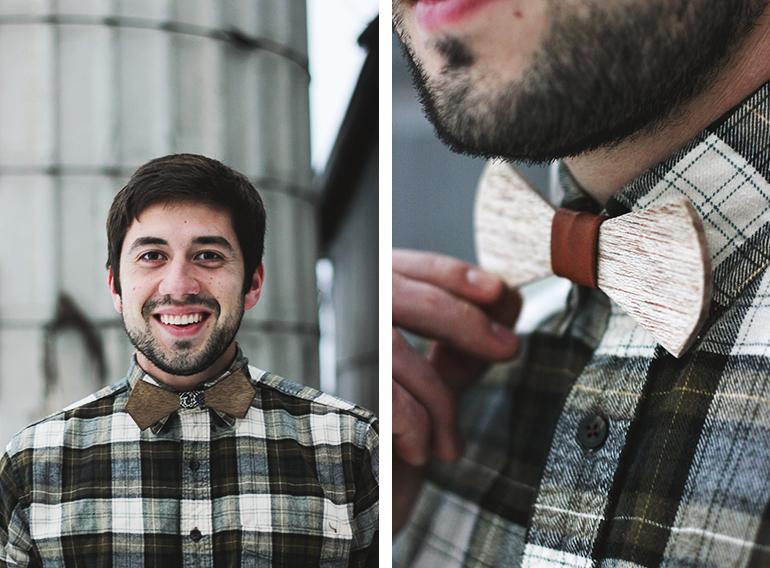 Как сделать галстук-бабочку из фанеры