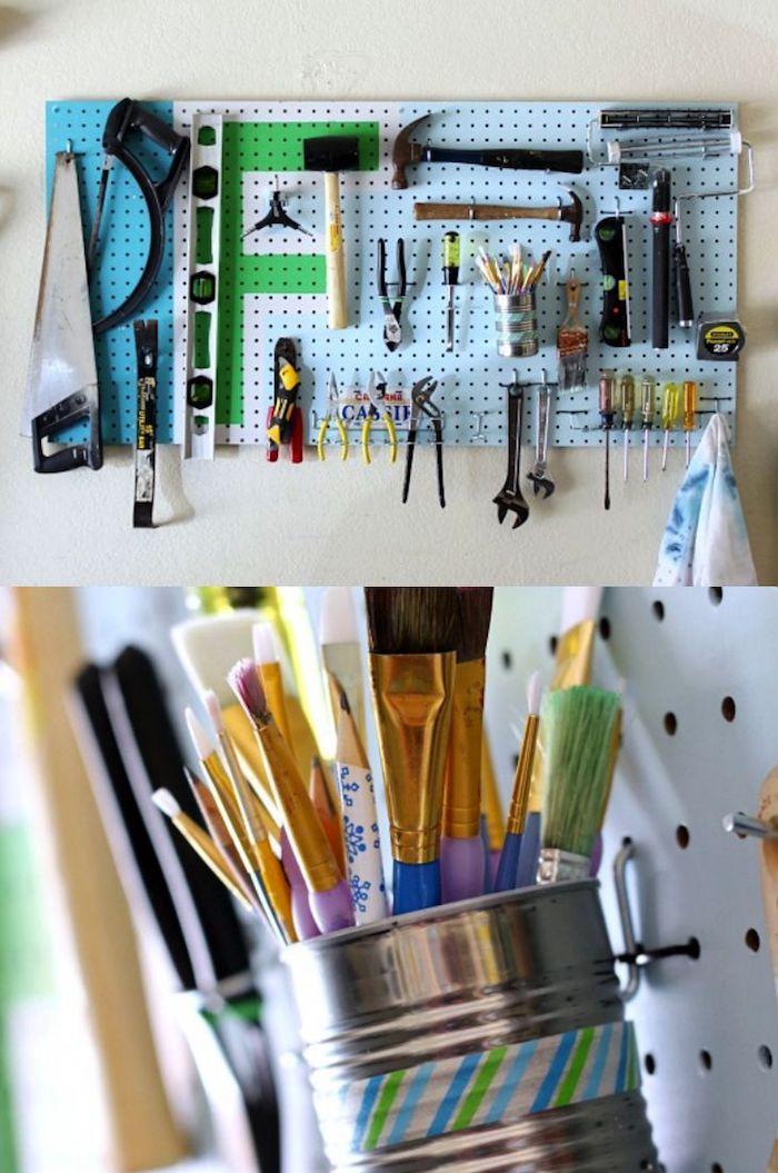 30+ Лайфхаков для организации пространства в гараже