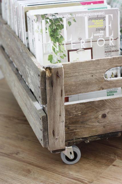 Новая жизнь деревянных ящиков