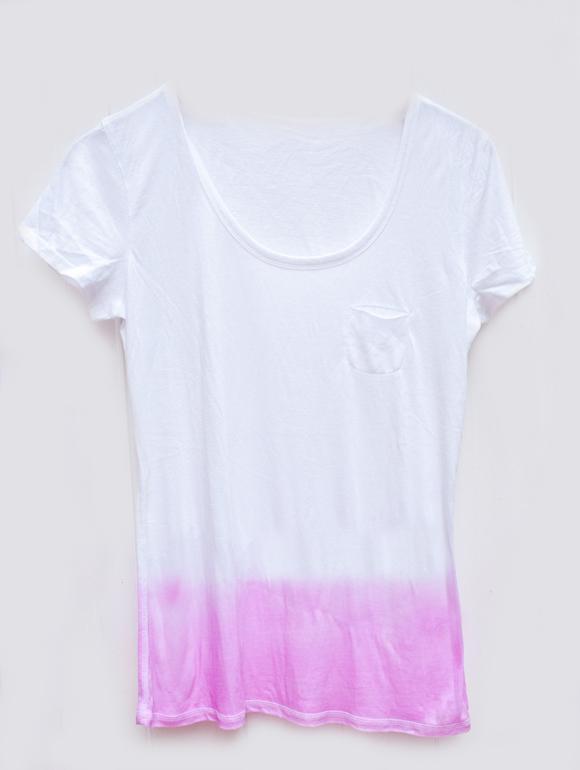 Как покрасить футболку своими руками