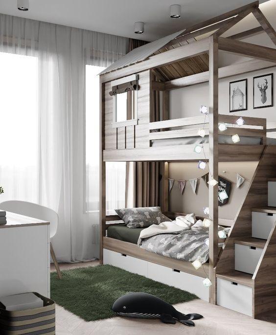 Встроенных детских кроватей на шаг выше остальных