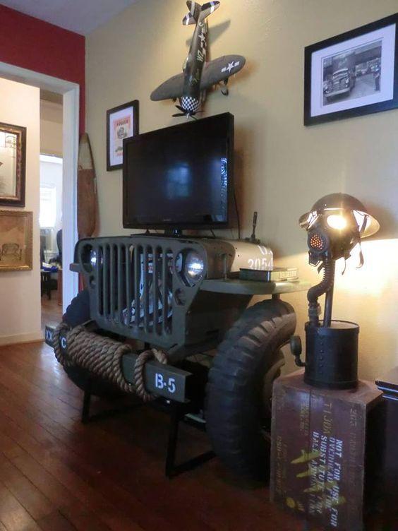 40 Шедевров мебели из старых автомобилей