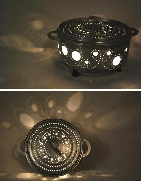 Как сделать Лампы из винтажных вещей своими руками