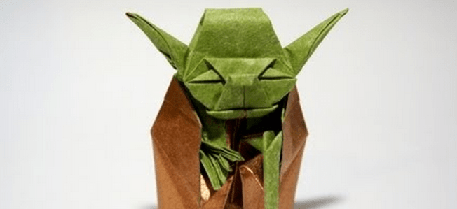 Оригами Джедай Йода {своими руками}