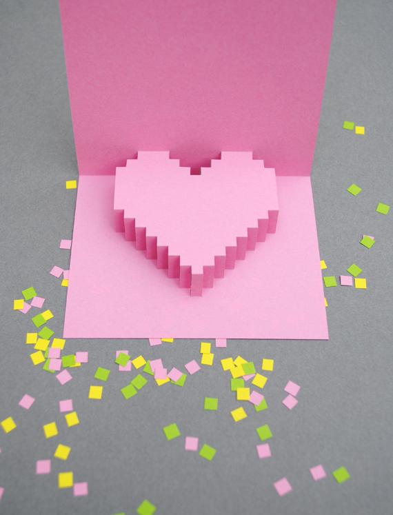 Как сделать объемную открытку своими руками, подарок для любимого на День Святого Валентина