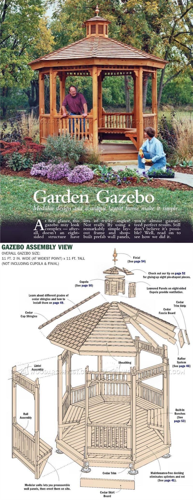 20 Волшебных проектов для сада