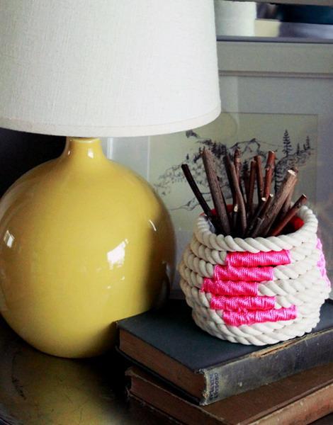 Чудесные идеи декора из каната и веревки