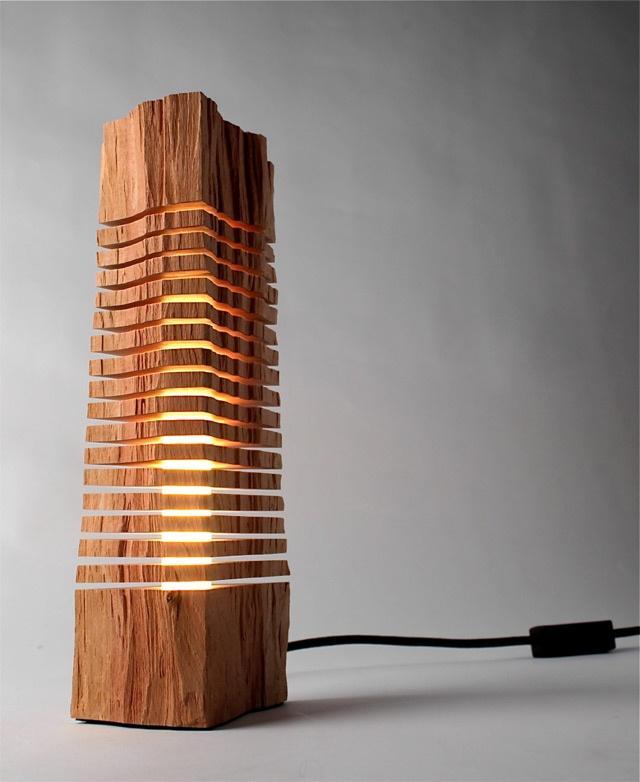 Необыкновенные светильники из дерева. ТОП 50