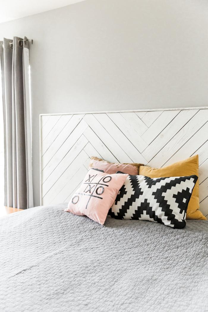 16 Крутых способов сделать деревянное изголовье кровати