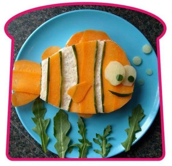 Креативные бутерброды {идея}