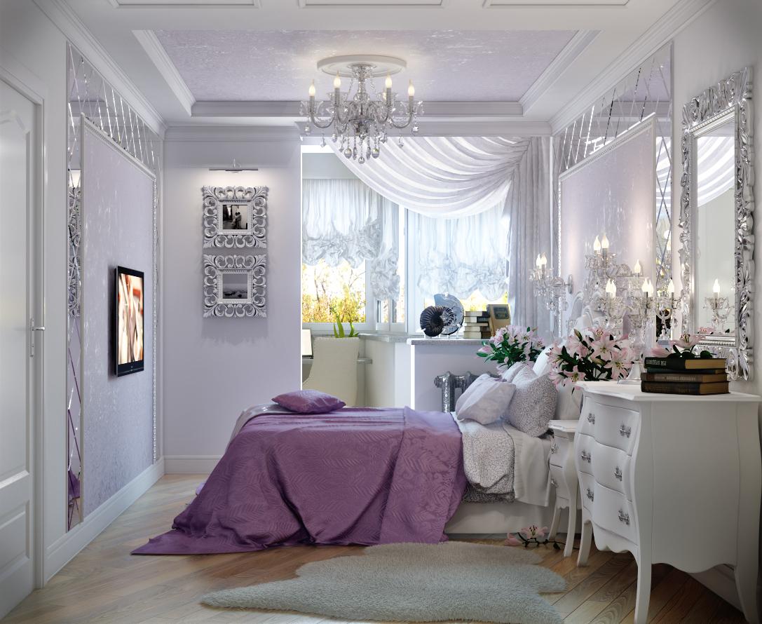 Дизайн спальня с балконом фото..