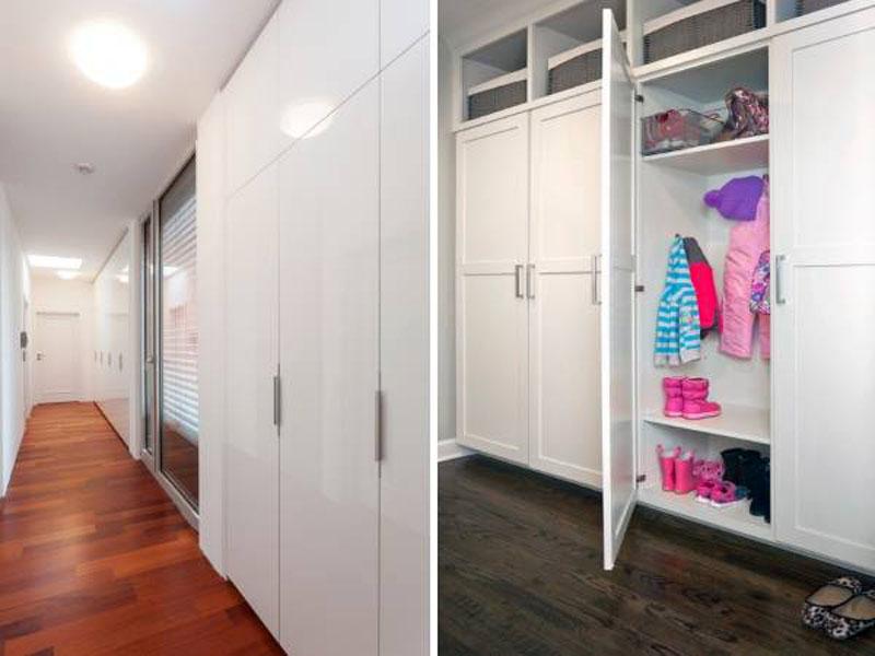Дизайн шкафа в прихожую 30 фото.