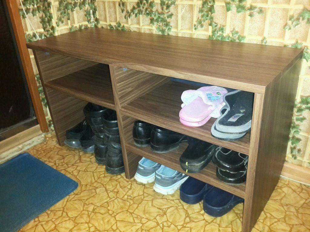 Тумба для обуви в прихожую 100 интересных идей.