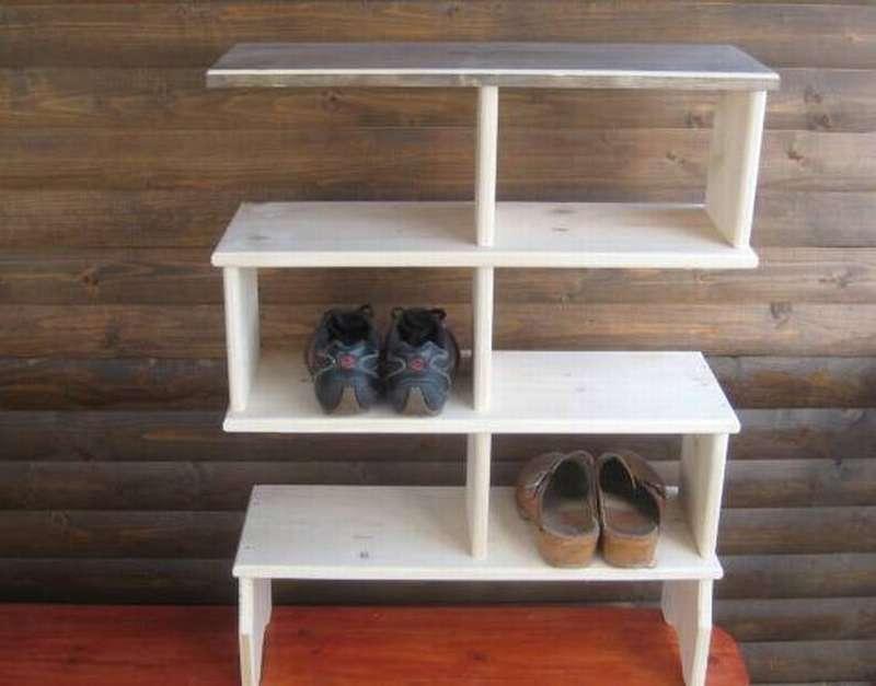 Как сделать полку для обуви своими рукам