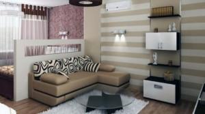 Дизайн маленького зала 20 лучших фото