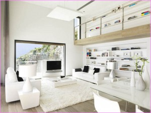 belij-cvet-v-dizajne-komnat-19 Белый цвет в интерьере дома.