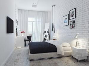 Белый цвет в интерьере дома.