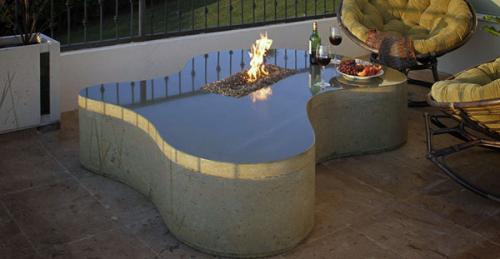 Столешница бетонная