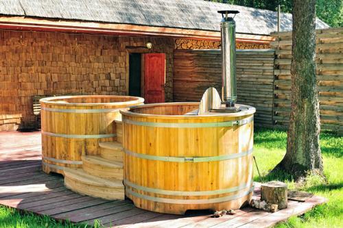 Патио для ванной