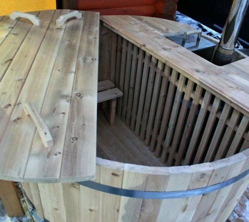 дизайн идеи деревянная купель