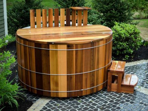 современная открытая портативная ванна
