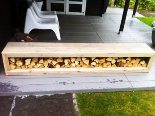 стойка для хранения дров