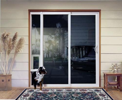 Двери для собак - это решение, обеспечивающее свободу и независимость вашего питомца