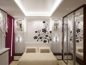 идеи дизайна маленькой спальни -foto-18