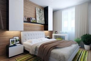 идеи дизайна маленькой спальни -foto-19