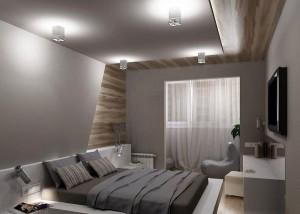 идеи дизайна маленькой спальни -foto-24