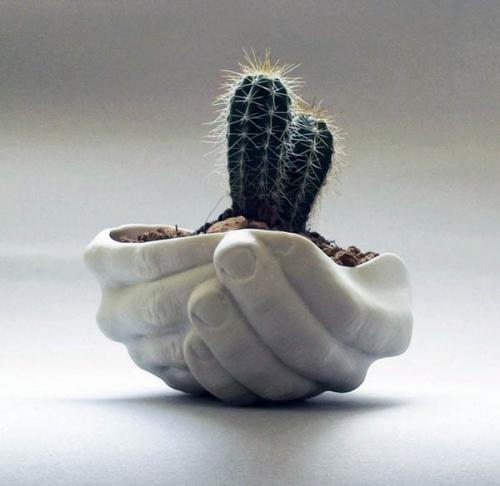 творческие идеи цветочного горшка
