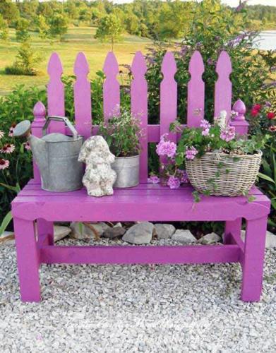 дикие скамейки для сада