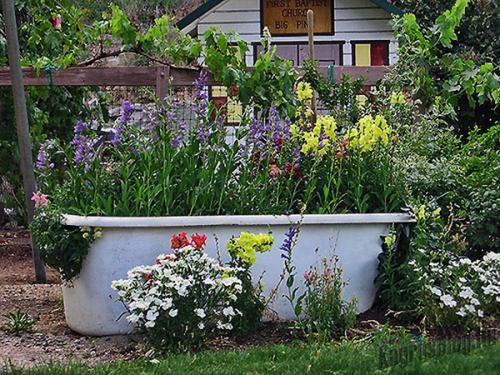 Ванная цветочница