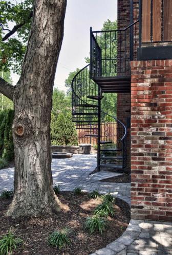 наружная современная домашняя архитектура