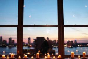 Романтические свечи украшения