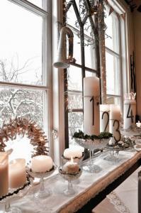 Идеи оформления рождественских окон