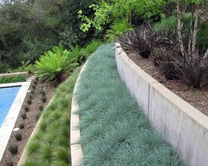 Современные садовые каменные колонны белые бетонные стены